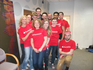 Team from Santander