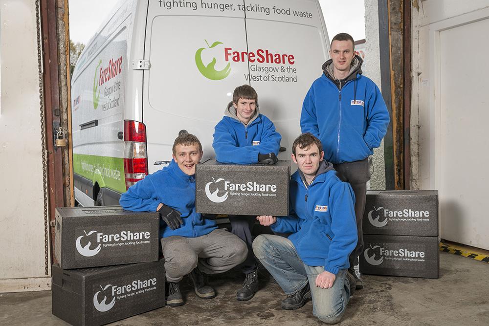 FareShare van and group