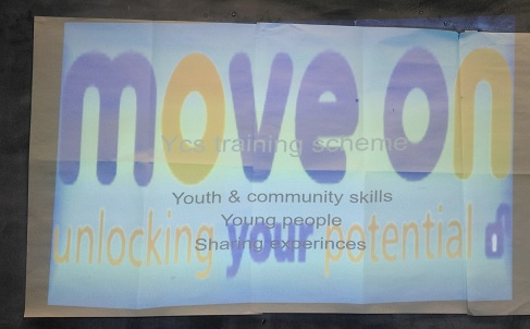 Youth and Community Skills presentation opening screen