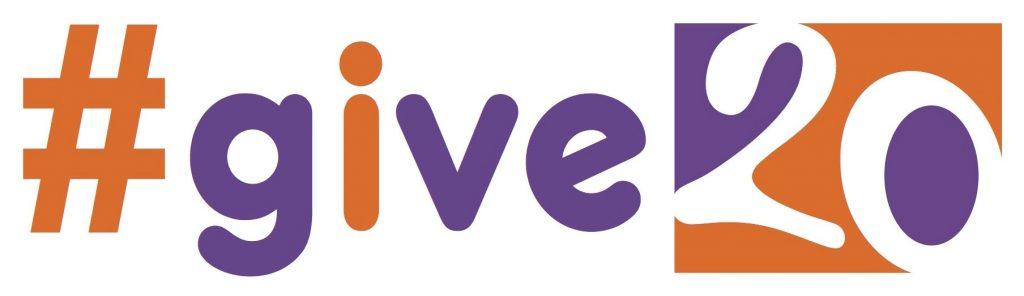 #Give20 logo