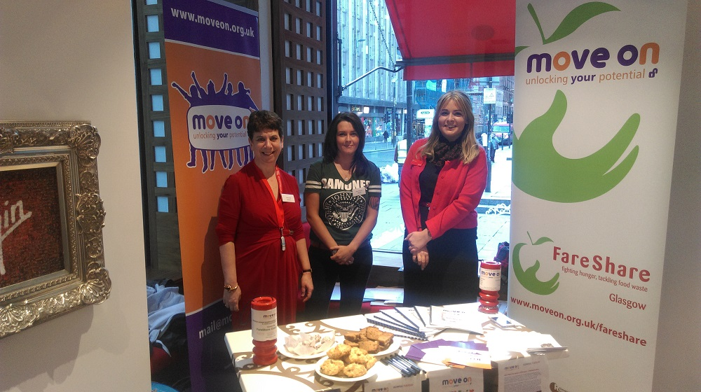 Giving Tuesday at Virgin Money Glasgow