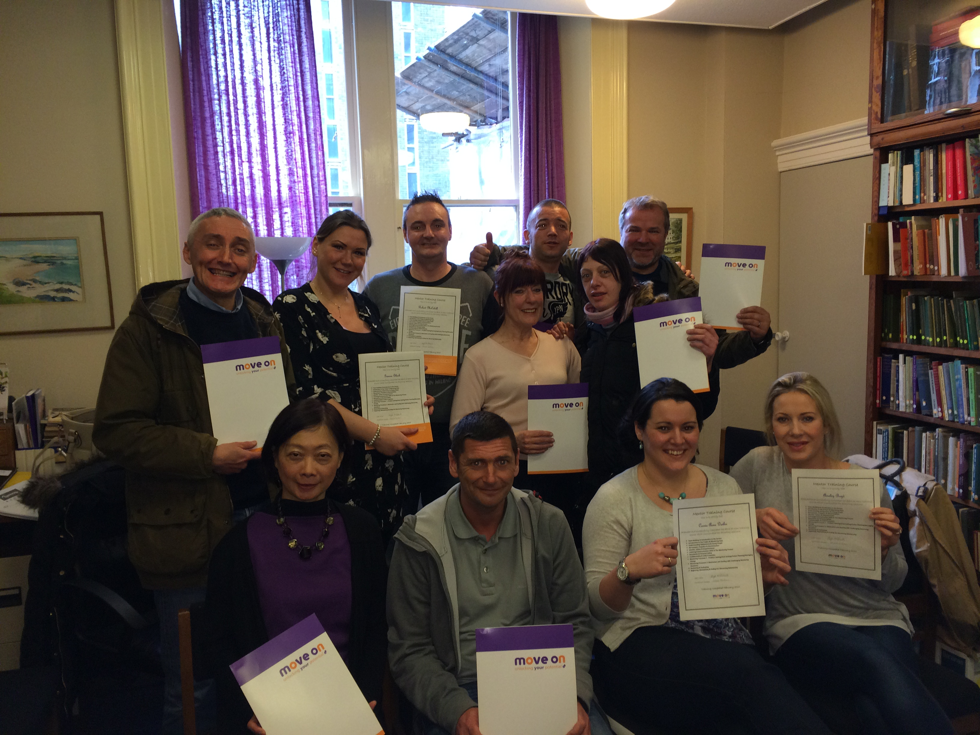 Glasgow mentors Mar 15