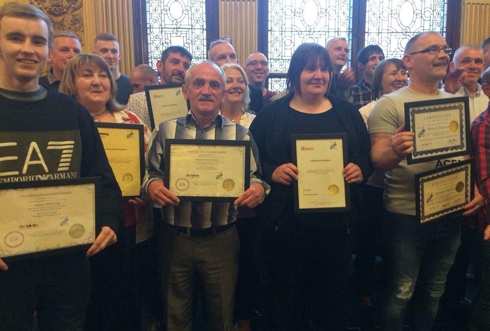 Elevate Glasgow PSP course celebration