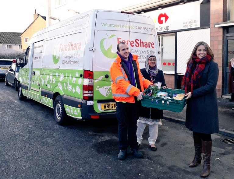 £500,000 in funding for FareShare