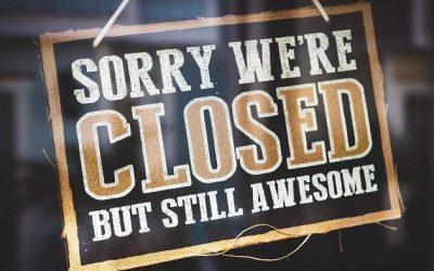 Office closure announcement