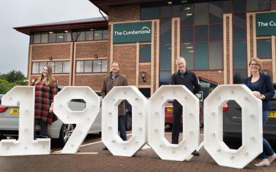 Cumberland Building Society donation