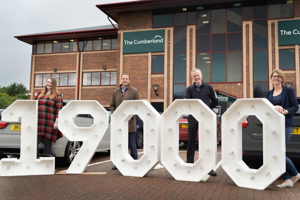 Cumberland Building Society donation